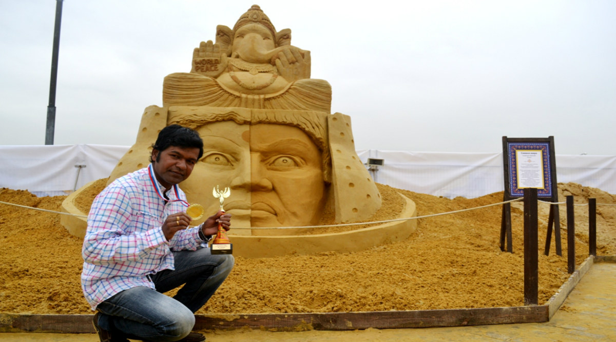 Sudarsan Pattnaik Selected for Italian Golden Sand Art Award 2019