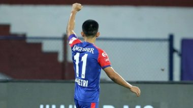Sunil Chhetri Goal Helps Bengaluru FC Beat Kerala Blasters in Indian Super League 2019–20, Extend ISL Unbeaten Streak