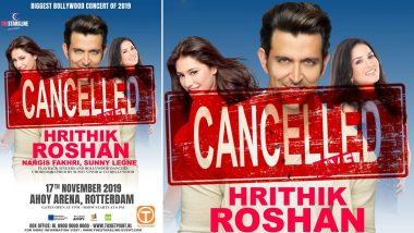 Sunny Leone, Hrithik Roshan's Bollywood Concert in Rotterdam Cancelled, Actress Asks Fans to Seek Refund!