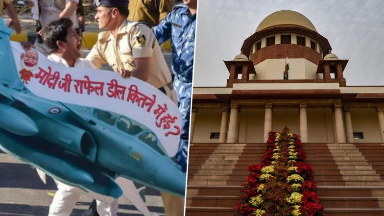 Rafale Review Plea Verdict: Supreme Court Rules Out CBI Probe in Purchase of 36 Fighter Jets From Dassault Aviation