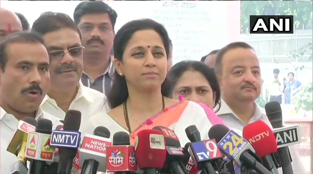 NCP MP Supriya Sule Backs Uddhav Thackeray Government Over Stay on Aarey Metro Work