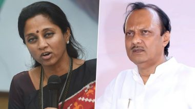 Supriya Sule's WhatsApp Status Confirms Split in NCP and Pawar Family After Ajit Pawar Supports BJP in Maharashtra Without Sharad Pawar's Consent