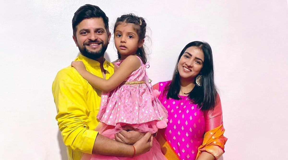 Happy Birthday, Suresh Raina! Family Photos of Indian Cricketer With Wife Priyanka Chaudhary and Daughter Gracia Are Too Cute