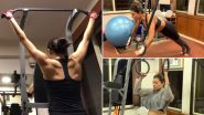 Sushmita Sen Birthday Special: Workout Routine of India's First Miss Universe Will Motivate Women Around the World to Stay Fit (Watch Videos)