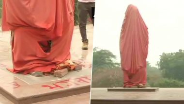 Swami Vivekananda Statue Vandalised at JNU, Miscreants Write 'Saffron Will Burn'
