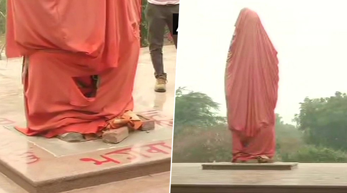 Swami Vivekananda Statue Vandalised at JNU, Miscreants Write 'Saffron Will Burn'