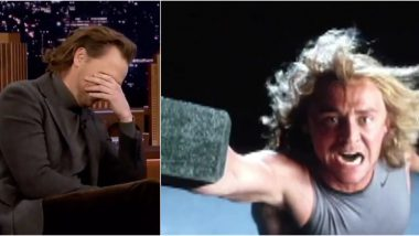 Tom Hiddleston Facepalms Looking at His Thor Audition Tape on the Jimmy Fallon Show, Says They Cast the Right Actor (Watch Video)