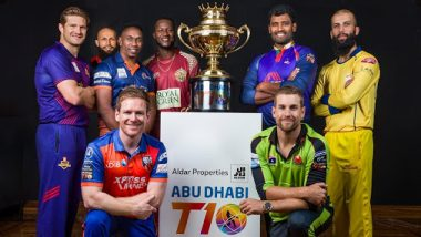 Abu Dhabi T10 League 2019 Points Table Updated: Deccan Gladiators Lead Team Standings in Group A, Maratha Arabians on Top Spot in Group B