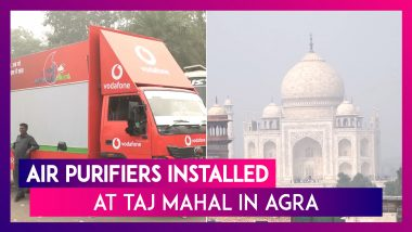 Air Purifiers Installed At Taj Mahal In Agra To Tackle Pollution