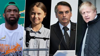TIME Person of the Year 2019: Siya Kolisi, Greta Thunberg, Jair Bolsonaro & Boris Johnson Among Probables to Feature on Magazine's Coveted Cover