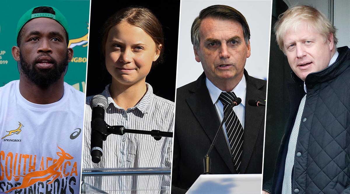 TIME Person of the Year 2019: Siya Kolisi, Greta Thunberg, Jair Bolsonaro & Boris Johnson Among Probables to Feature on Magazine's Coveted Cover