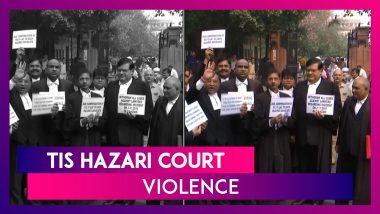 Tis Hazari Court Violence: Delhi Cops vs Lawyers