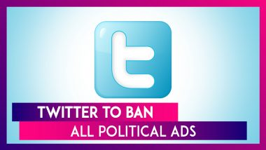 Twitter CEO Jack Dorsey Announces Ban On All Political Ads Starting This November