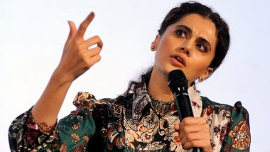 IFFI 2019: Taapsee Pannu Gets an Applause from Fans for Giving a Befitting Response to the Man Who Asks Her to 'Speak In Hindi'