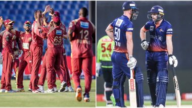 Abu Dhabi T10 League 2019 Live Streaming of Team Abu Dhabi vs Maratha Arabians on Sony Liv: How to Watch Free Live Telecast of TAB vs MAR on TV & Cricket Score Updates in India