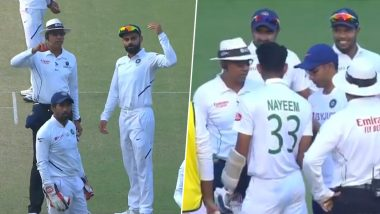 Nitin Patel, Team India Wins Hearts With True Sportsmanship After Physio Rushes to Check-On Concussed Nayeem Hasan During IND vs BAN D/N Test