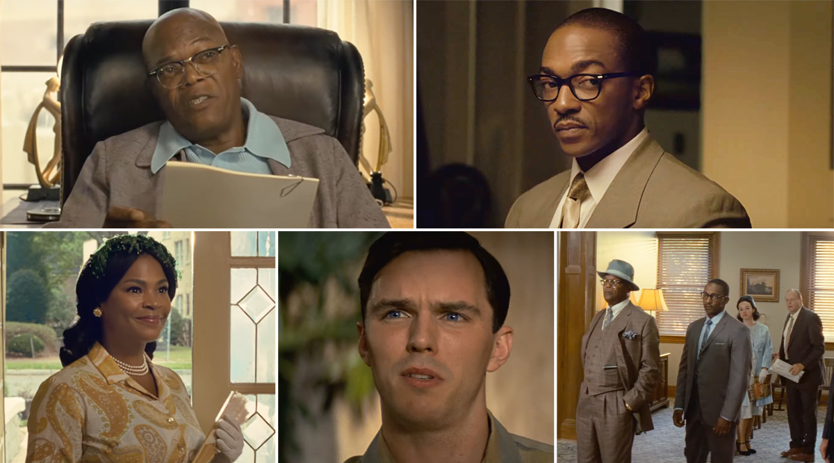 The Banker Trailer: Samuel L Jackson and Anthony Mackie Buy a Bank During 1950s and That Is the Real Superhero Stuff (Watch Video)