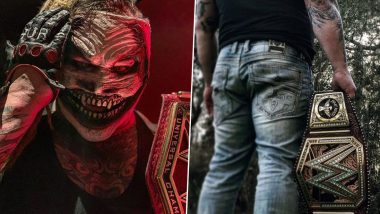The Fiend Bray Wyatt Reveals His Customised Universal Championship Belt After Emerging Victorious Over Seth Rollins at WWE Crown Jewel 2019 (View Pic & Video)