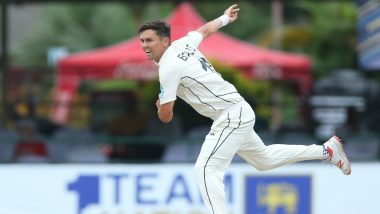 Trent Boult, New Zealand Pacer, Likely to Miss Hamilton Test Against England After Experiencing Pain on Right Ribs