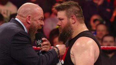 WWE Raw Nov 18, 2019 Results and Highlights: Triple H Offers Kevin Owens an Opportunity to Join NXT, Brock Lesnar to Face Rey Mysterio in a No Holds Barred Match at Survivor Series (Watch Videos)