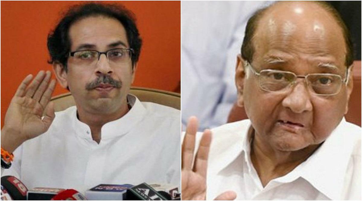 Shiv Sena-NCP-Congress Govt in Maharashtra? Uddhav Thackeray Meets Sharad Pawar as Deadline to Stake Claim Nears