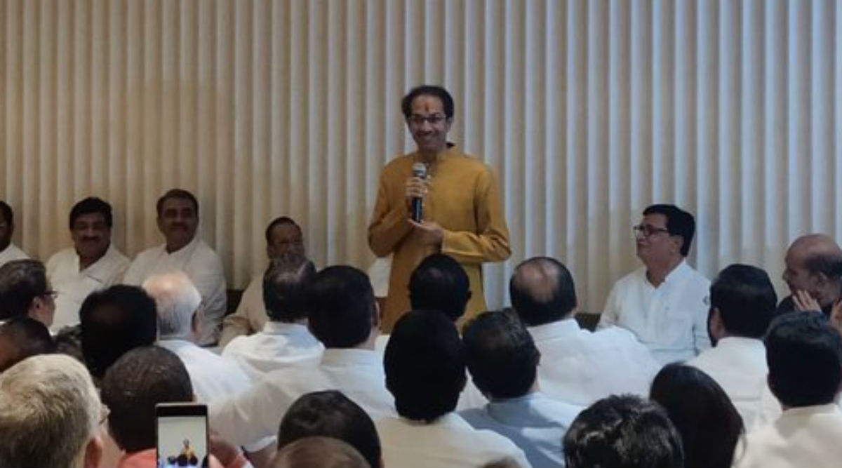Uddhav Thackeray Declared Chief Ministerial Candidate of Shiv Sena-NCP-Congress's 'Maha Vikas Aghadi', Swearing-In on November 28