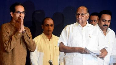 Maha Vikas Aghadi Divided on CAA-NPR: After Uddhav Thackeray Clears His Stand, Sharad Pawar Says 'Will Convince Shiv Sena'