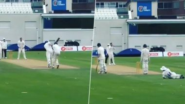 Not Out and Wide! Umpire's Shocking Decision After Turning Down LBW Appeal Leave Players Laughing in Disbelief (Watch Video)