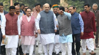 CAB Protest: Amit Shah Cancels Visit to Shillong For North East Police Academy Programme, Heads to Jharkhand