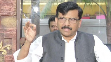 Sanjay Raut Health Update: Shiv Sena MP Undergoes Angioplasty at Mumbai's Lilavati Hospital