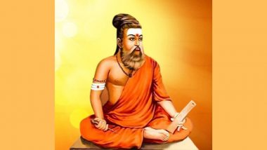 Thiruvalluvar Dons Saffron Robe And Rudraksha in Photo Tweeted by Tamil Nadu BJP, Image Creates Massive Controversy