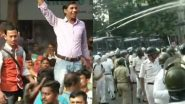 Dengue in Kolkata: BJP Workers Protest Near Kolkata Municipal Corporation, Water Cannons Used to Disperse Crowd