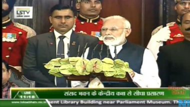 Constitution Day 2019: PM Narendra Modi Addresses Parliament, Says 'India is Moving Towards Prosperity & BR Ambedkar Would be Happy Looking at It'