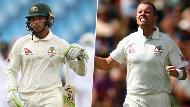 Australia Announce Squad for Two-Match Test Series Against Bangladesh, Usman Khawaja and Peter Siddle Dropped From the Squad