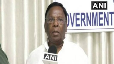 Puducherry Chief Minister V Narayanasamy Hospitalised in Chennai