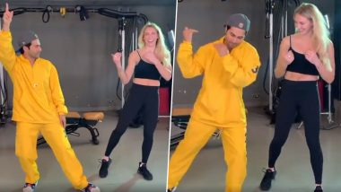 Street Dancer 3D: Varun Dhawan Is Giving WWE Women's Champion, Charlotte Flair Some Bollywood Dance Lessons and We Can't Keep Clam (Watch Video)