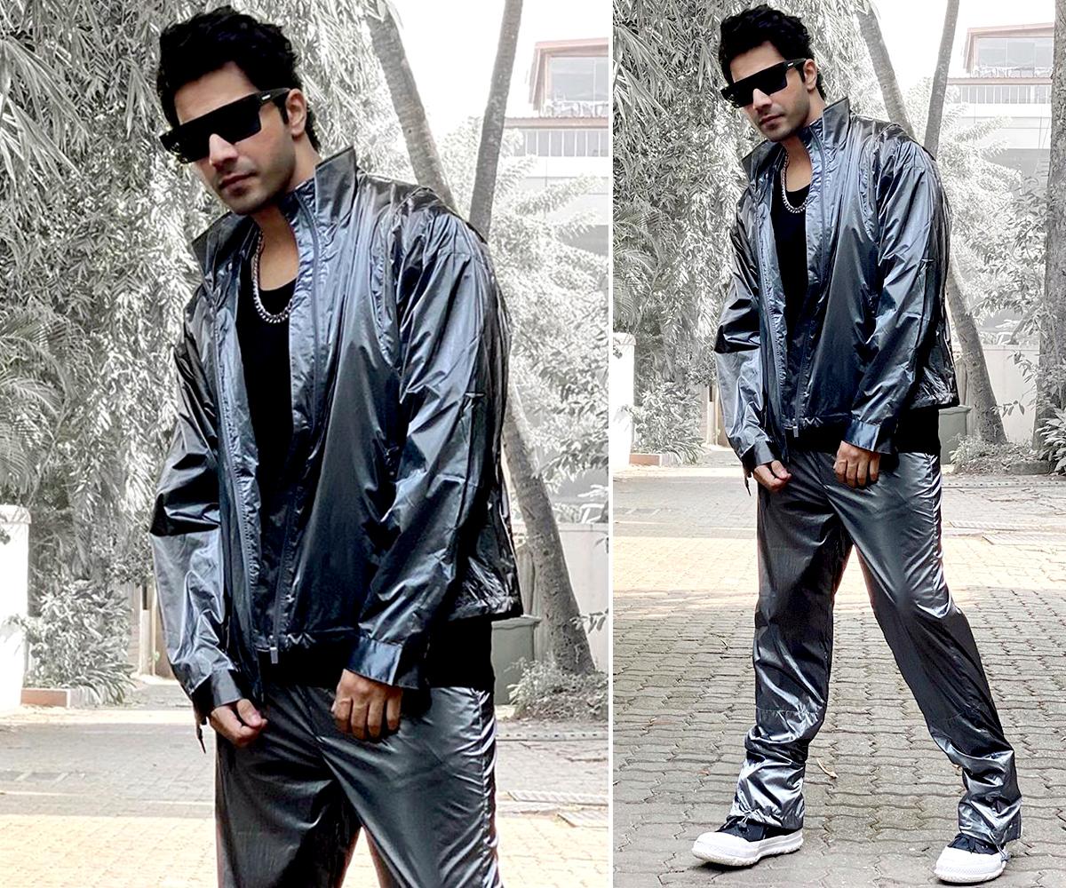 Varun Dhawan kickstarts Street Dancer promotions with a futuristic fashion statement (4)