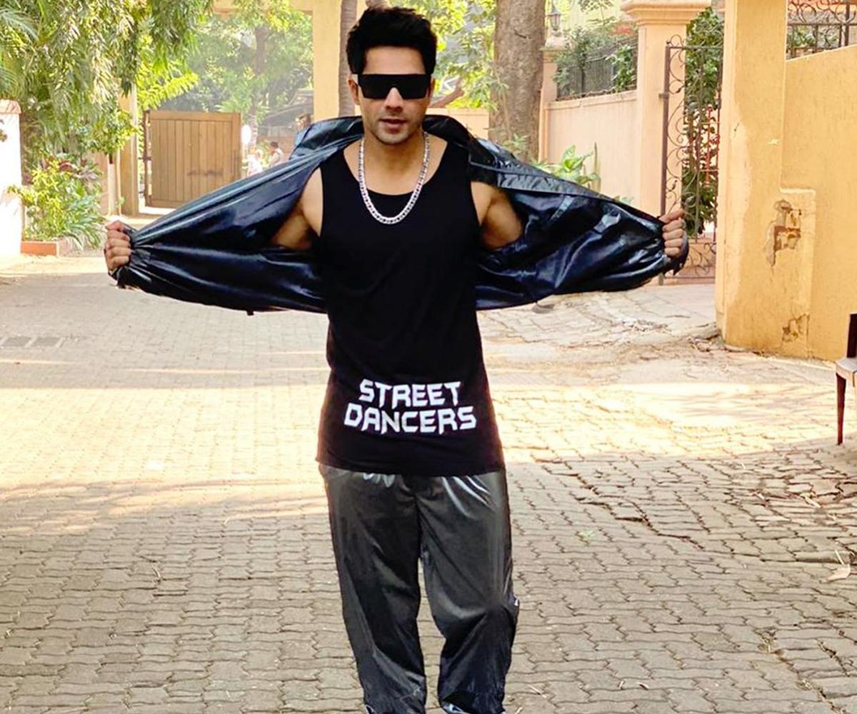 Varun Dhawan kickstarts Street Dancer promotions with a futuristic fashion statement (5)