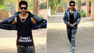 Varun Dhawan, We LOVE Your Interstellar Inspired Tracksuit to the Moon and Back! View Pic