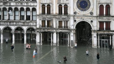 Venice Floods: Italian City Hit by Highest Tide in 50 Years, Tourists Wade Through Flooded Streets
