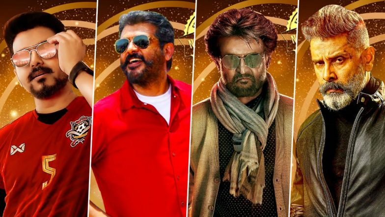 Edison Awards 2020: Vijay, Thala Ajith, Rajinikanth, Chiyaan Vikram Nominated For 'Mass Hero of the Year'; Here's The Complete List of Nominations