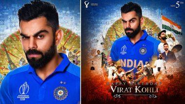 #HappyBirthdayViratKohli Trends on Twitter As Virat Kohli Fans Celebrate Indian Skipper's 31st Birthday in Advance