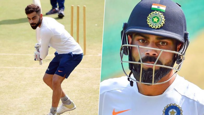 Virat Kohli Practises With Pink Ball on Team India Return Ahead of Bangladesh 2019 Test Series, 'Great to Be Back With the Boys' Says Indian Skipper (See Pictures)