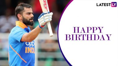 Happy Birthday Virat Kohli: Five Remarkable Knocks by the Indian Run-Machine