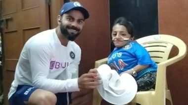 Virat Kohli Meets Special Fan Post IND vs BAN 1st Test, Netizens Heap Praises on Indian Skipper's Kind Act