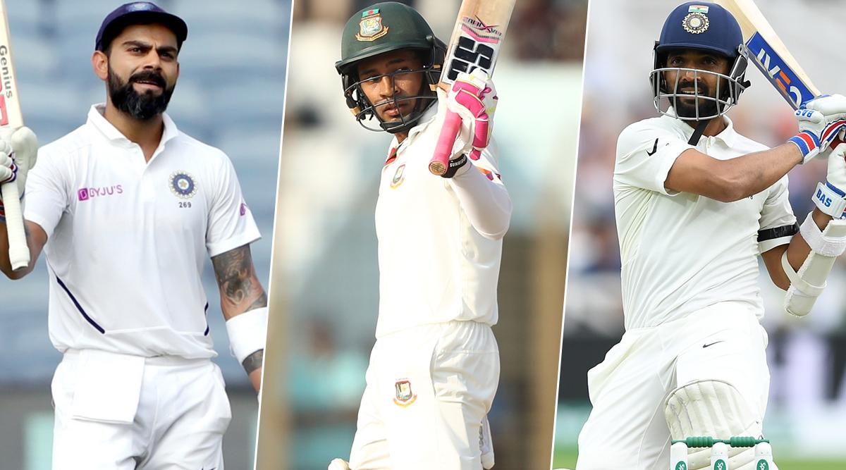 India vs Bangladesh 1st Test 2019: Virat Kohli, Mushfiqur Rahim, Ajinkya Rahane & Other Key Players to Watch Out For in Indore