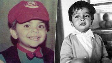 Children's Day 2019: Virat Kohli, Rahul Dravid, MS Dhoni and Other Indian Cricketers' Childhood Pictures Will Bring a Big Smile On Your Face