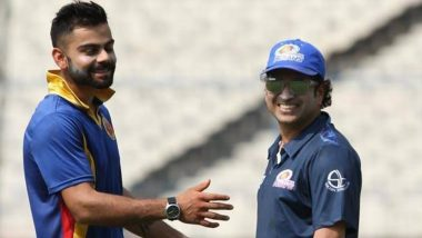 Virat Kohli 31st Birthday: Sachin Tendulkar Wishes the Indian Captain on His Special Day, Wants Him to 'Keep Scoring Runs and Lead India With Same Passion'