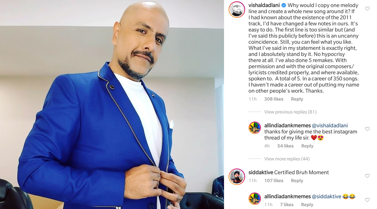 Vishal Dadlani Responds to Internet Calling Him Hypocrite: 'I've Also Done 5 Remakes, Not Made a Career out of Putting My Name on Other People's Work'