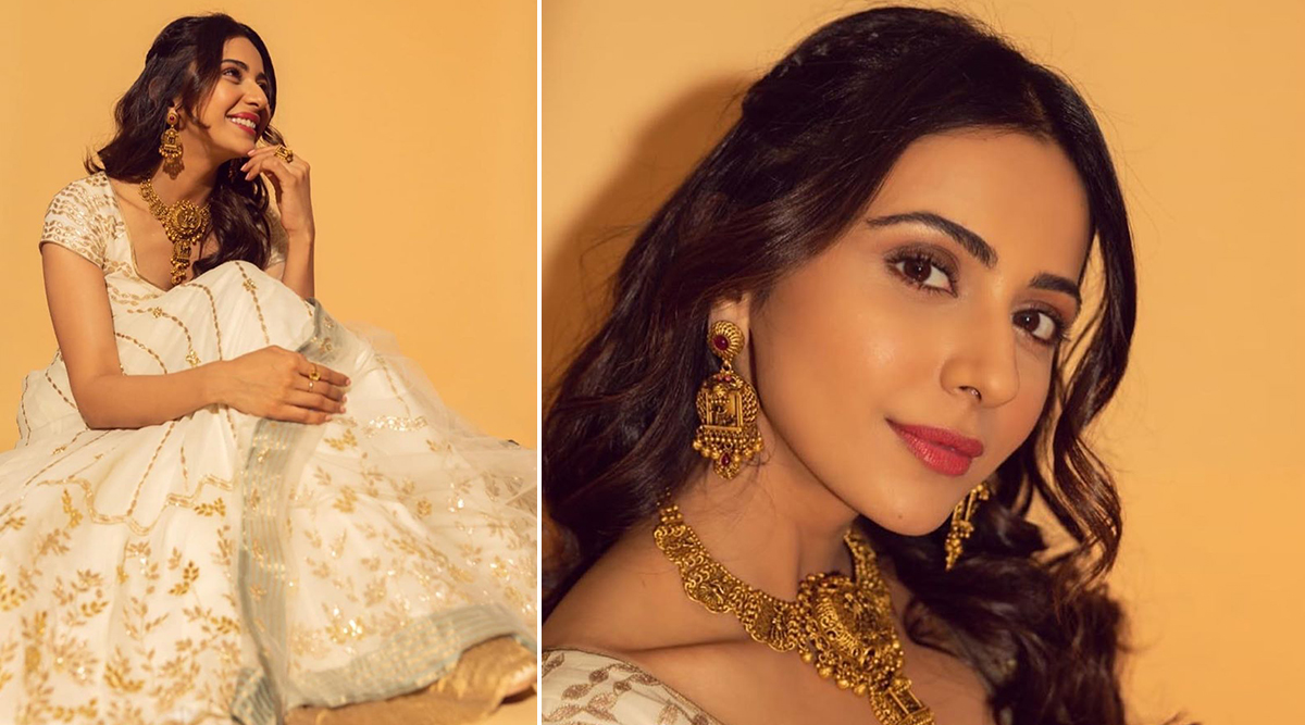 Wedding Fashion 2019-20 - Rakul Preet Singh in Devnaagri